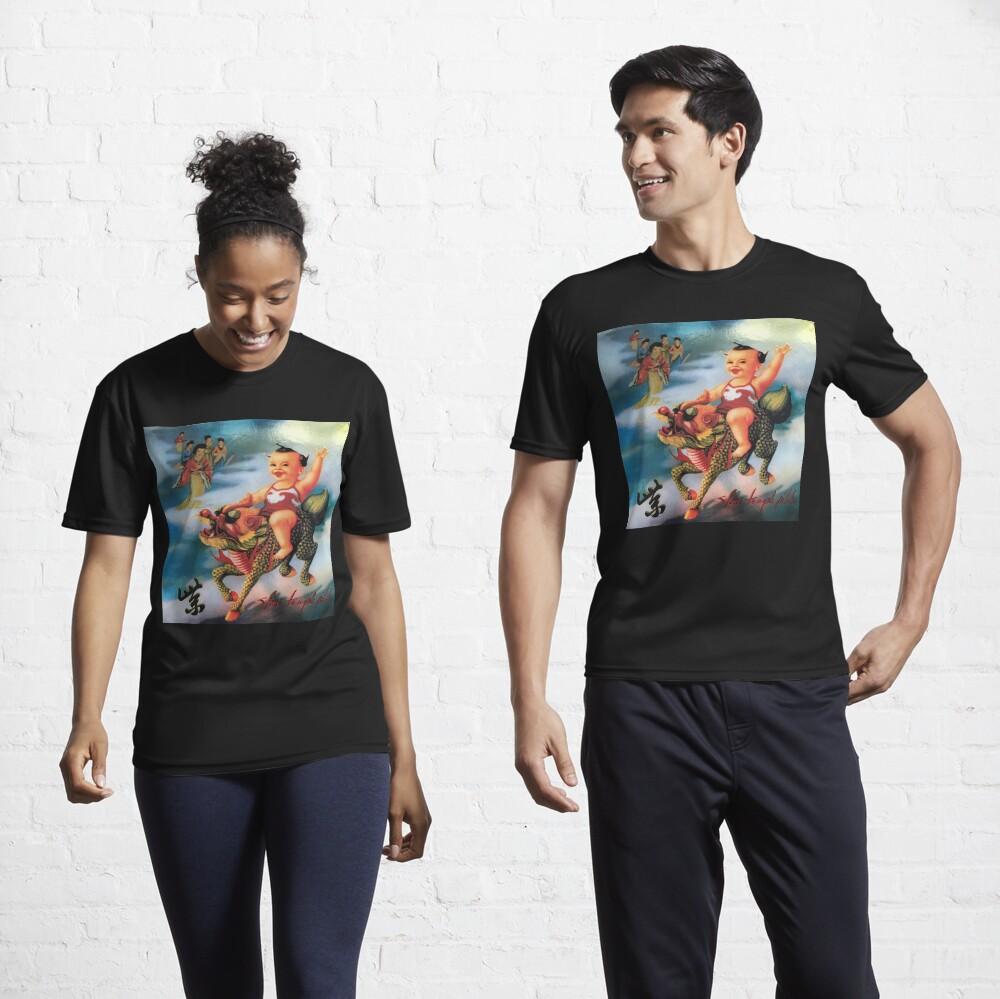 Stone Temple Pilots Purple Active T-Shirt