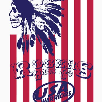 usa warriors indian by rogers bros by usaboston