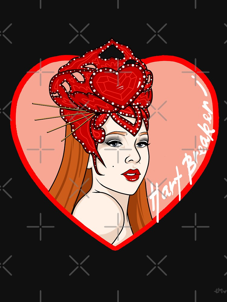 Hart Breaker - LadyHart Pin Up Print by LadyHart