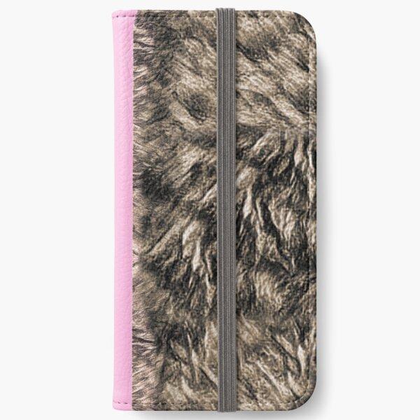 BEAR PRINT T iPhone Wallet