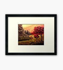 The Lookouts Framed Print