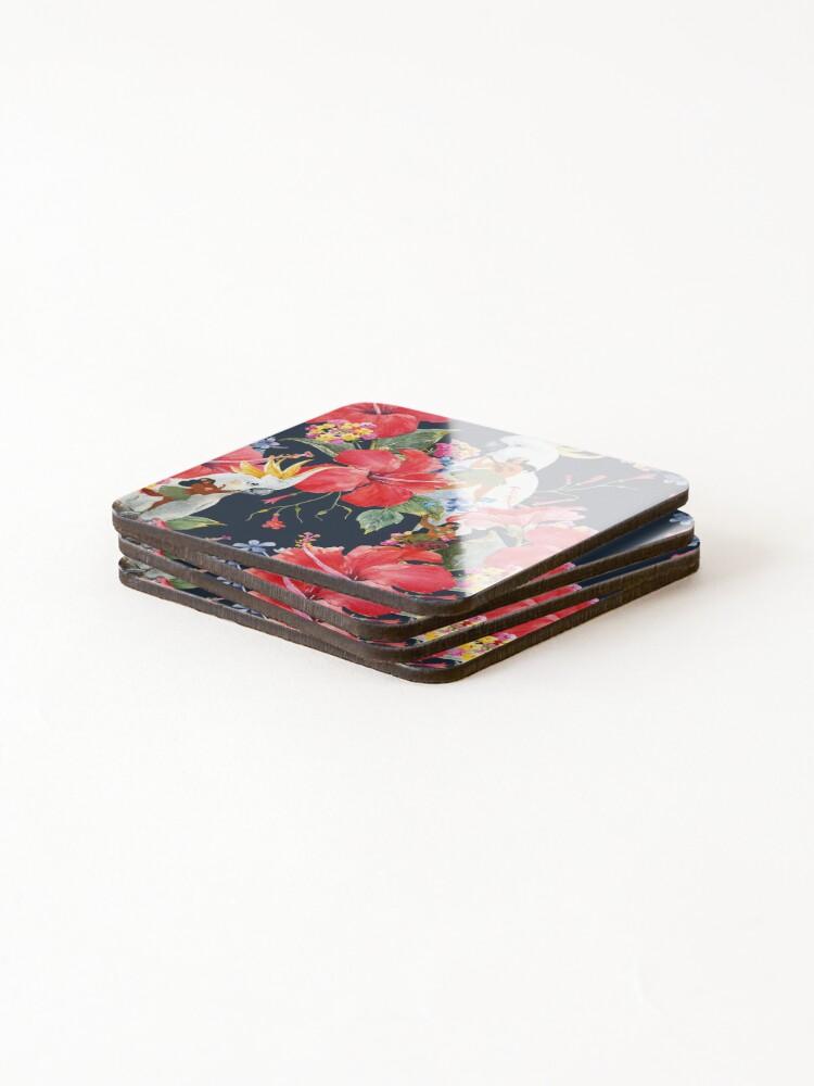 Alternate view of The Hula Dancers Coasters (Set of 4)
