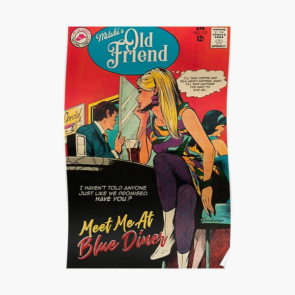 Mitski Old Friend Be The Cowboy Vintage Style Poster Poster