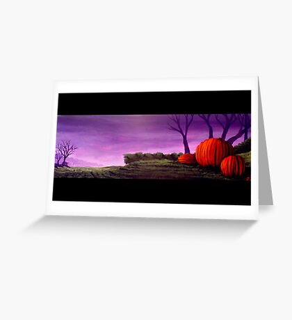 Purple Patch Greeting Card