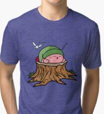 Sleepy Hero of time Tri-blend T-Shirt