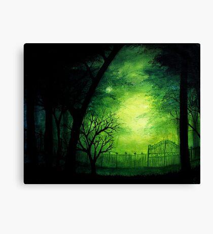 Ghastly Gate Canvas Print