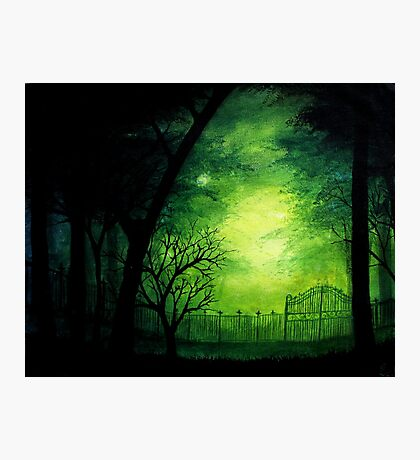 Ghastly Gate Photographic Print