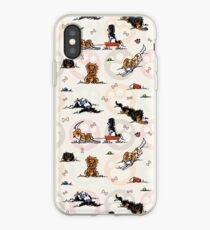 Vinilo o funda para iPhone Puppy Playtime In For A Treat