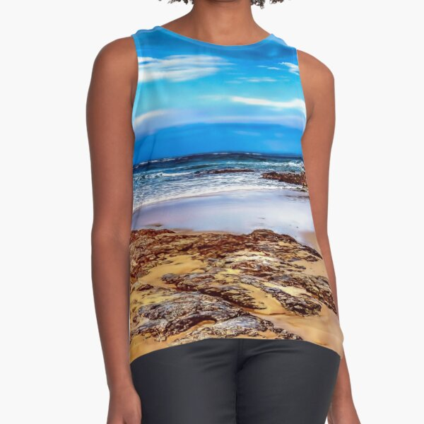 Hungry Head Beach (2) Sleeveless Top