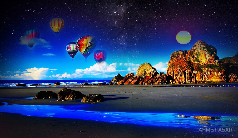 open sea ballooning 2 by MotionAge Media