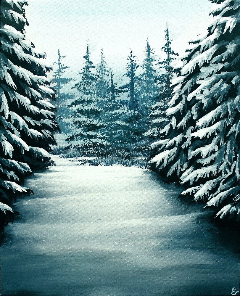 Snowy Path by Erin Scott