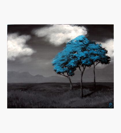 Singled Out: Blue Photographic Print
