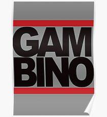 RUN GAMBINO Poster