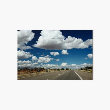 On the road to nowhere  Art Board Print
