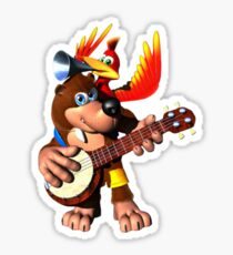 Banjo-Kazooie Sticker