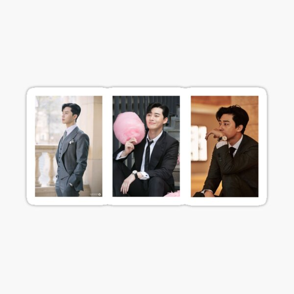 Park Seo Joon in a suit Sticker Pack Sticker