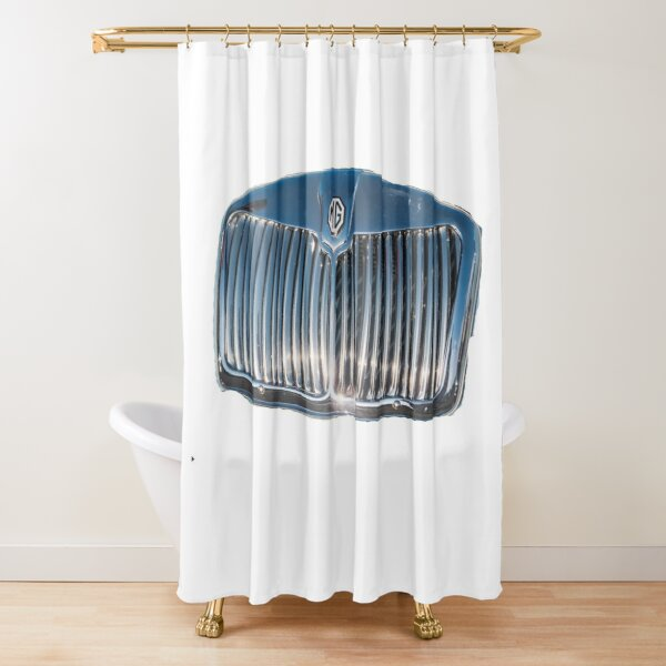 Classic Mg Grill Shower Curtain