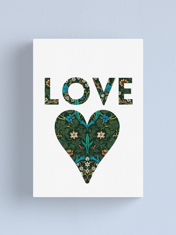 Alternate view of LOVE Canvas Print