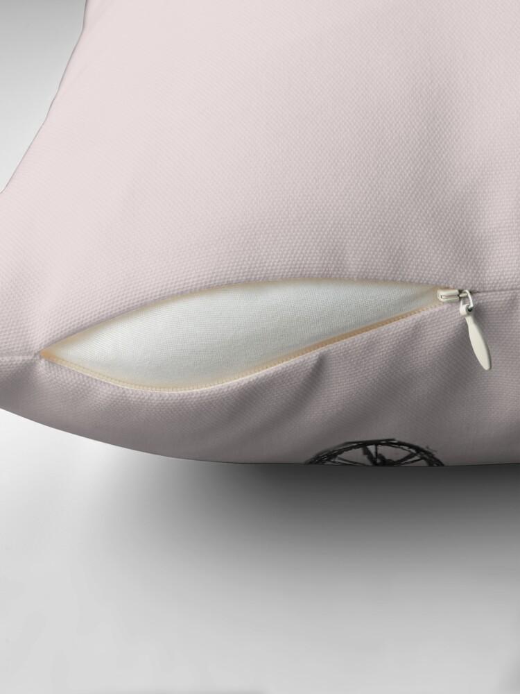 Alternate view of LittleTScribble#17 Throw Pillow