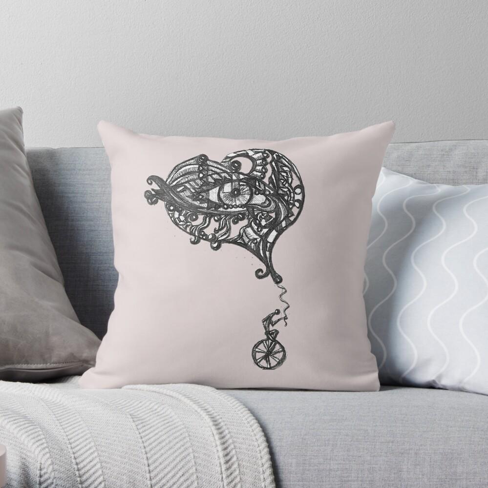LittleTScribble#17 Throw Pillow