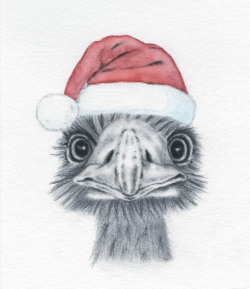 Emu Santa by jmorace