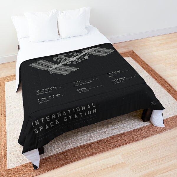 ISS Blueprint Comforter