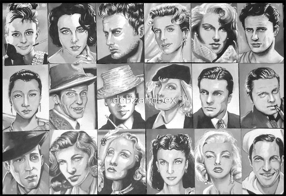 Old film stars by debzandbex