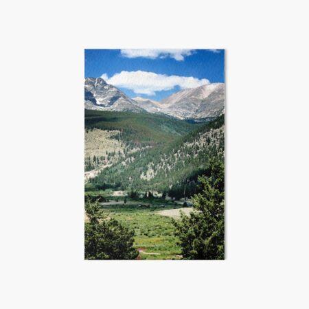 Rocky Mountain High, Wyoming  Art Board Print
