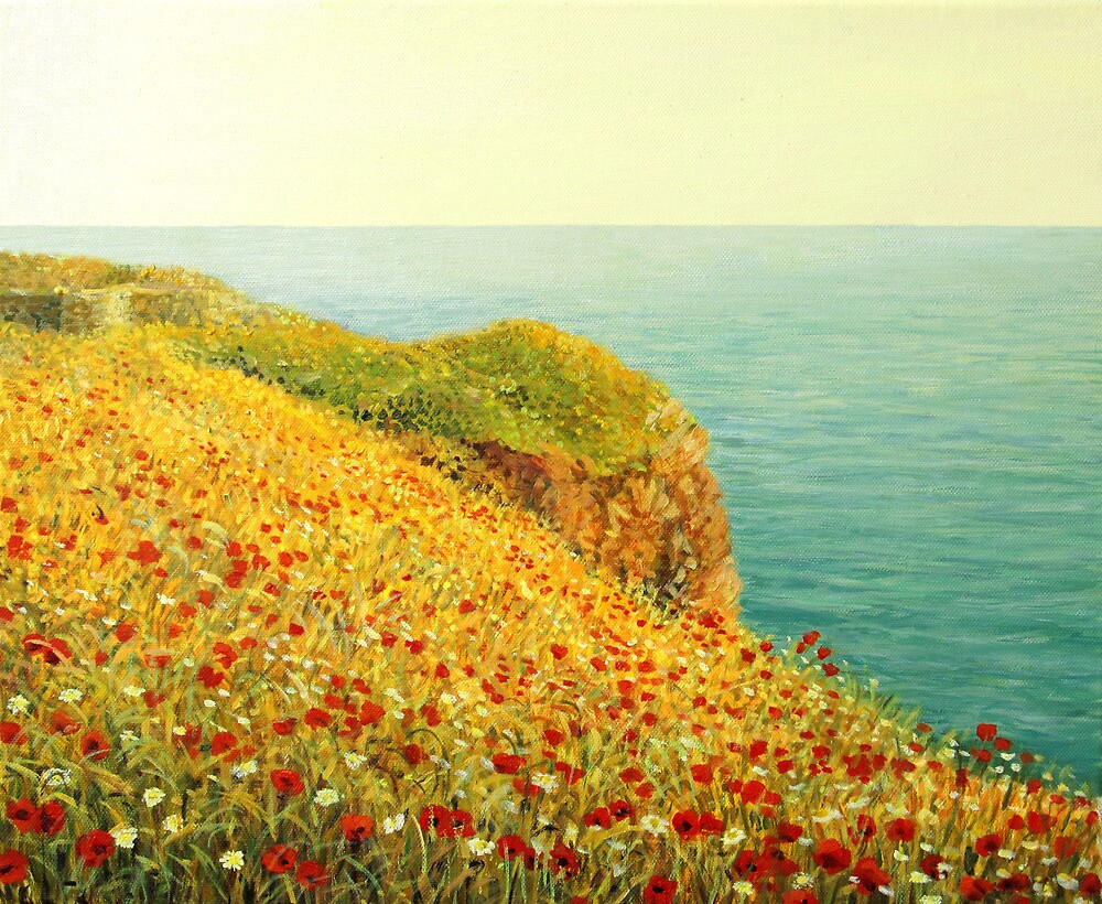 Poppies of Kaliakra by kirilart