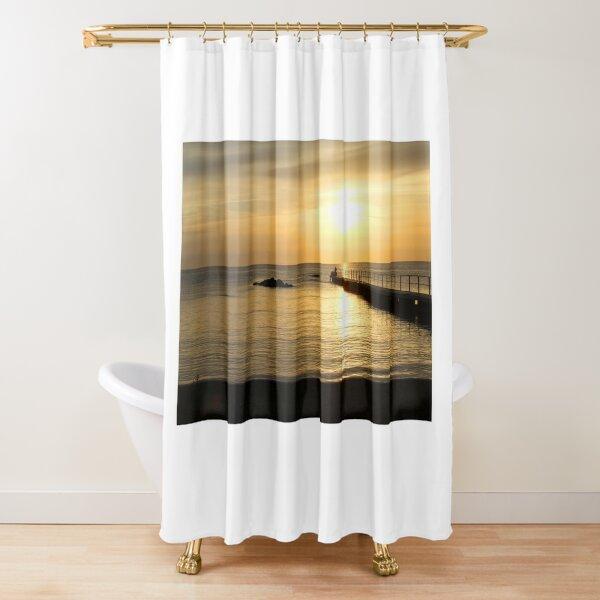 Evening on Gotland Shower Curtain
