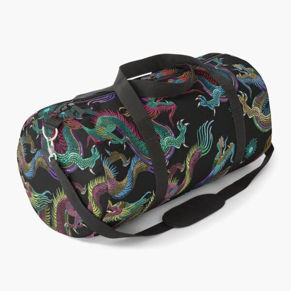 Japanese Dragon Pattern Design Artwork Duffle Bag