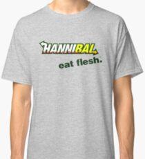 """Hannibal """"Eat Flesh"""" Classic T-Shirt"""