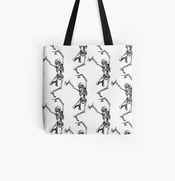 Dance With Death All Over Print Tote Bag