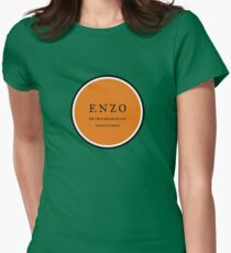 ENZO surfboards - bethells beach Womens Fitted T-Shirt