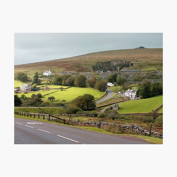 The Dartmoor Inn at Merrivale Photographic Print