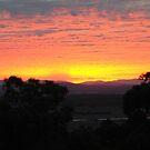 Sunrise near Whittlesea, Victoria by Heather Samsa