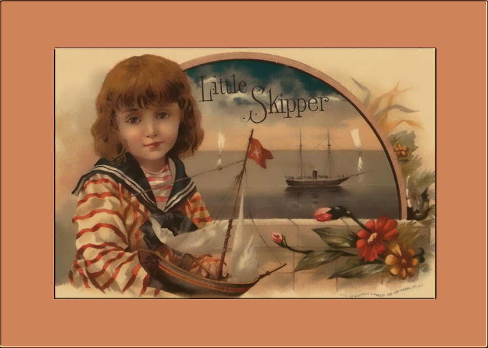 Little Skipper Greetings by Yesteryears