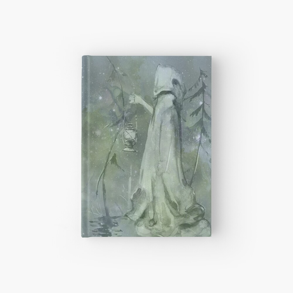 Magic fantasy fairytale book Hardcover Journal