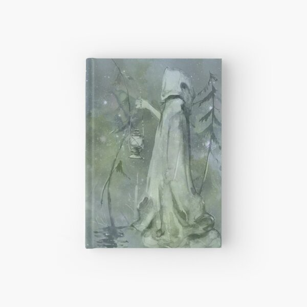 Magic fantasy fairytale book Hardcover Journal