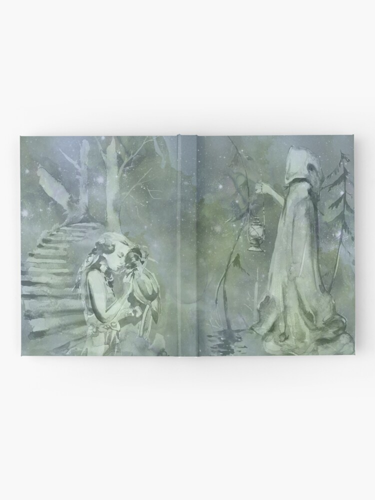 Alternate view of Magic fantasy fairytale book Hardcover Journal