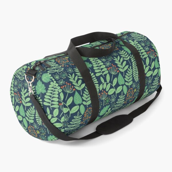 Night in forest Duffle Bag