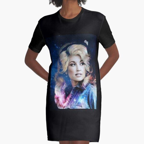 Love Country Music Dolly Shirt Parton American singer Graphic T-Shirt Dress