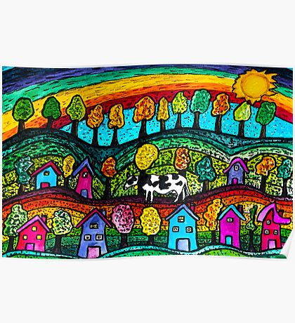 Rainbow Country Poster