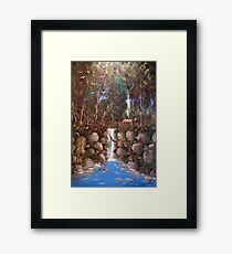 Mangle Brook Framed Print