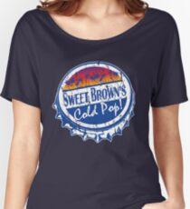 Sweet Brown's Cold Pop Bottlecap Shirt V1 Women's Relaxed Fit T-Shirt