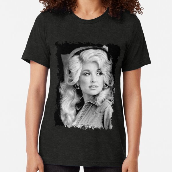 Funny Dolly Tees Parton Legends Live Forever Gift Tri-blend T-Shirt