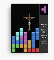 Jesus At Just The Right Time Canvas Print
