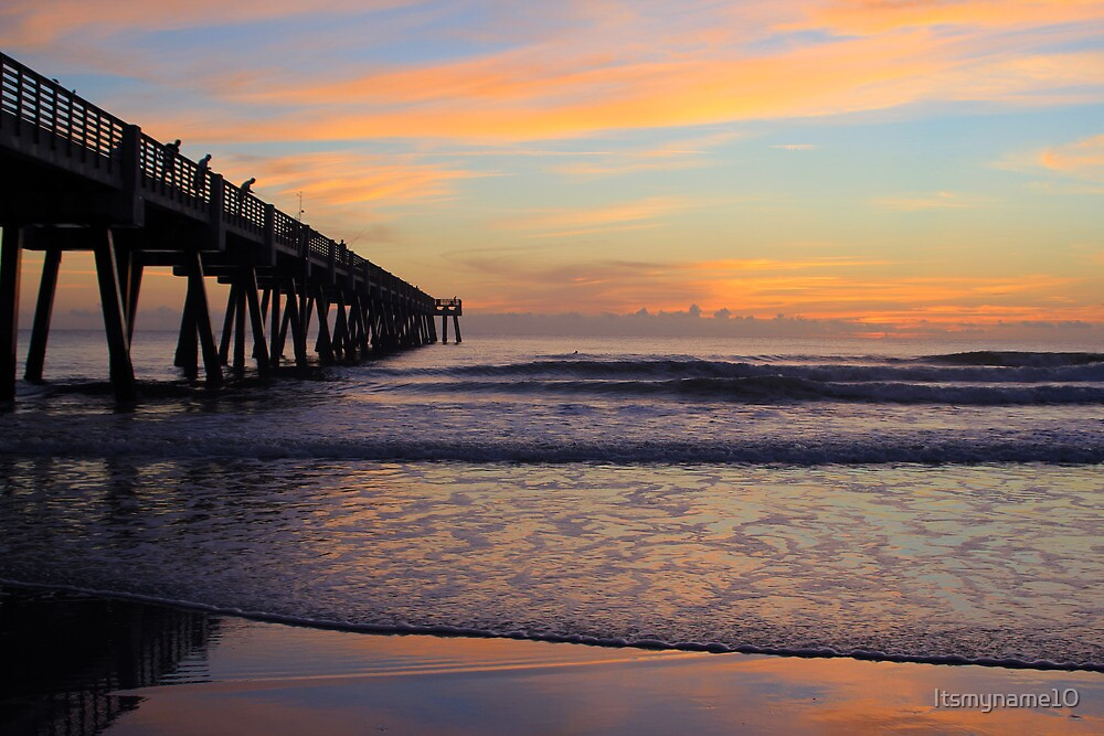 Pier Reaching for the Sun by Itsmyname10