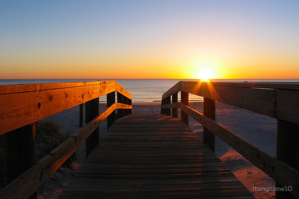 Walking Towards Sunrise by Itsmyname10