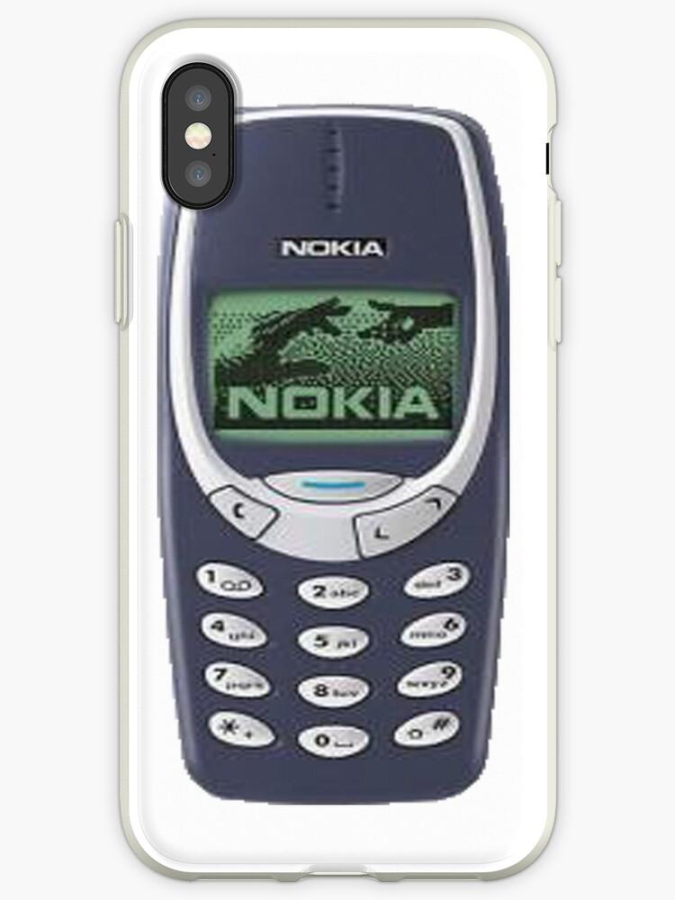 quality design eb003 393d3 'nokia 3310 cover' iPhone Case by Aniello Noto